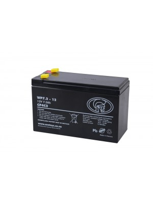 Battery mf, 12V, 7.2 Ah (sealed maintenance free)