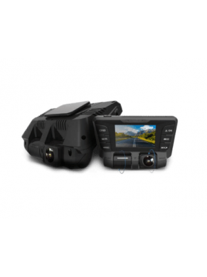 2 Channel DASH Camera FULL HD with Rotatable Lens
