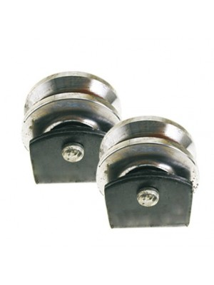 Slide wheel set - 80mm u profile