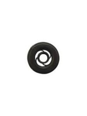 Bobbin  round bar - black