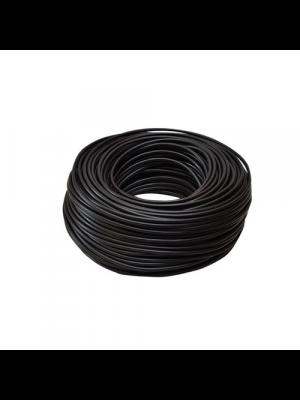 HT cable black 4 core - 100m slimline