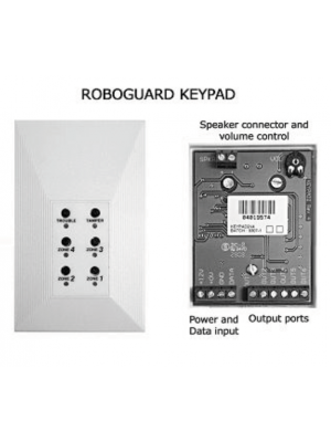 Roboguard keypad