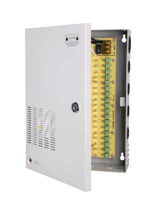 Power supply - 12vdc 12a 18channel s/mode